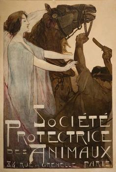 societe protectrice des animaux poster